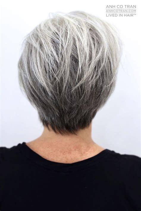 Best 25 Short Gray Hairstyles Ideas On Pinterest Short