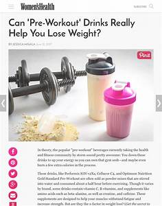 Can  U0026 39 Pre-workout U0026 39  Drinks Really Help You Lose Weight
