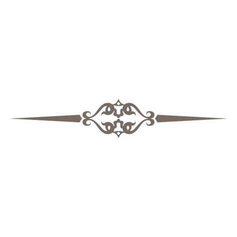 Decorative Divider Lines - decorative line divider ornament transparent png svg