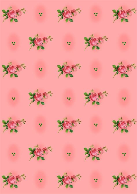 digital rose scrapbooking paper ausdruckbares