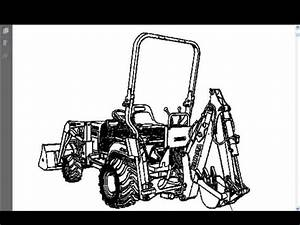 Buy Kubota Bt600 Parts Manual For Bt 600 Tractor Backhoe