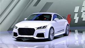 2015 Audi Tt Quattro Sport Concept World Premiere