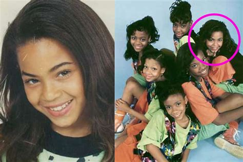 Beyonce Childhood Pictures