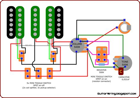 The Guitar Wiring Blog Diagrams Tips Custom