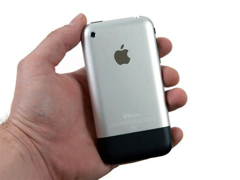 original metal iphone 2g 8gb back cover housing us iphone 2g backcover black 1generation 8gb r 252 ckseite