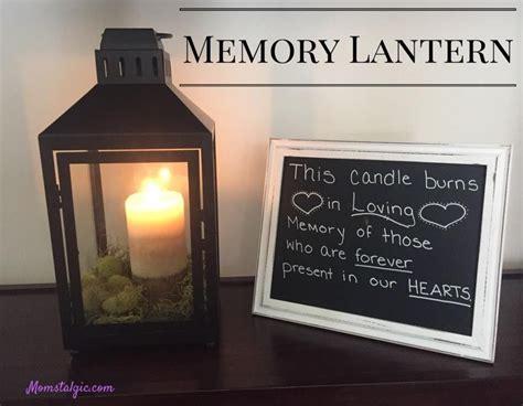 memory lantern diy crafts family reunion games