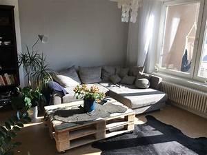DIY Wohnzimmertisch Aus Paletten DIY Einrichtung Idee