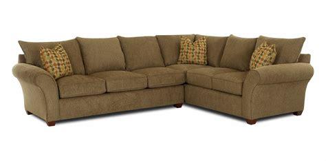 klaussner sectional sofa klaussner fletcher transitional 2 sectional sofa