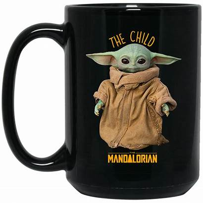Yoda Mug Mandalorian Coffee Child Wars Cup