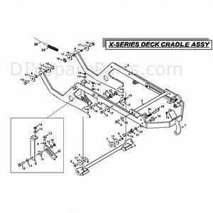 Countax X Series Rider 2010  2010  Parts Diagram  Deck