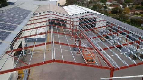 albury industrial shed extension asset building systems