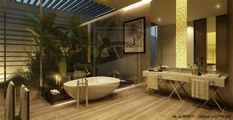 decoration zen et nature bathtubs with a view of nature