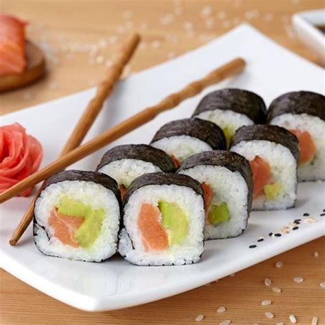 cuisine minceur rapide recette makis saumon et avocat facile rapide