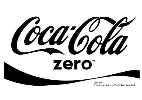 The gallery for --> Coke Zero Logo Vector