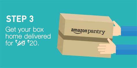 amazon pantry offers   cashback upto rs