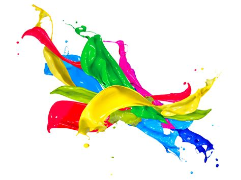 paint splash colors design free images at clker