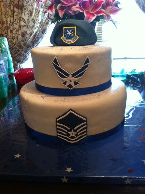 security forcesair force retirement cake  fondant
