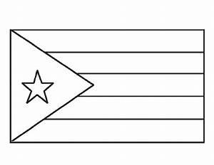 Desenho Da Bandeira De Cuba Para Colorir Tudodesenhos