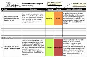 risk assessment template tools4dev With risk assessments templates