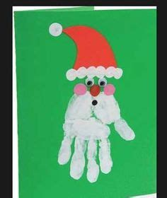 handprint footprint canvas craft kid craft 660 | a5036e3da375cc92110723c8c4566c29 santa handprint handprint art