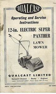 Qualcast Mower 12 Electric Super Panther Lawn Mower