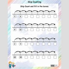 Skip Counting Worksheets Mathsdiarycom