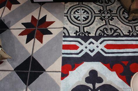 tapis design carreaux de ciment le blog d 233 co de mlc