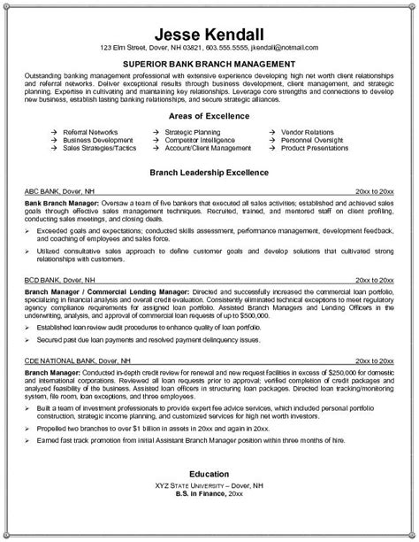Bank Manager Resume by Bank Branch Manager Resume Bank Branch Manager Resume