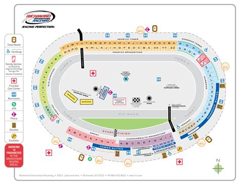 richmond motor speedway seating chart impremedianet