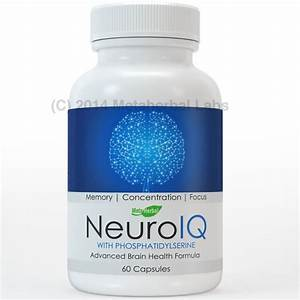 Neuroiq Advanced Factor Brain Health Pills For Memory  Concentration  And Focus