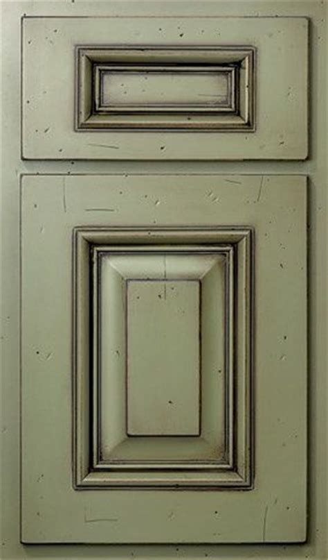 Green Kitchen Cabinet Doors by Kitchen Cabinets Painted With As Chalk Paint And Sealed