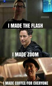 Harrison Reverse Flash   Harry And H R  Dam The Difference