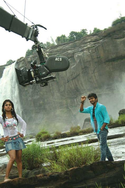 vijay  nayanthara  villu  shooting photo