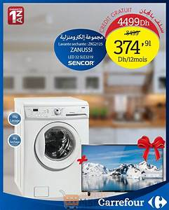 Carrefour Electromenager Lave Linge : promo carrefour maroc lave linge tv led 4499dhs ~ Melissatoandfro.com Idées de Décoration