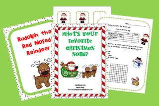 Classroom Freebies What's Your Favorite Christmas Song?