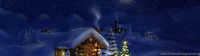Wallpaperaccess Wallpapers 4k Ultra Desktop Santa Night