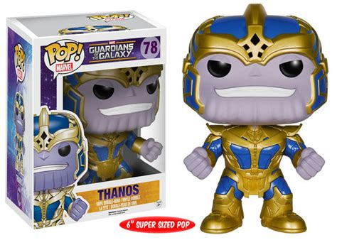 Funko Pop! Marvel - Guardians of the Galaxy: Thanos Over ...