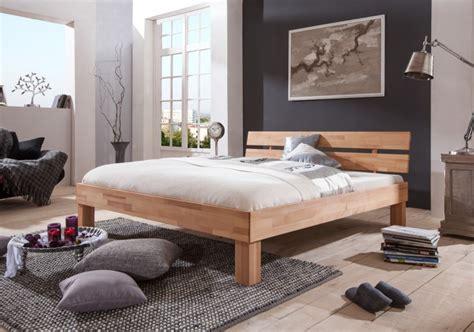 Französisches Bett Futonbett Doppelbett 140x200 Buche