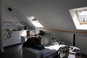 Appartement Sous Comble : architecte dplg nantes fran oise gervot r alisations r novations extensions habitations ~ Dallasstarsshop.com Idées de Décoration