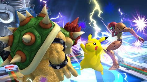 Super Smash Bros For Nintendo 3ds And Wii U Characters