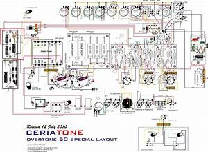 Dumble Amp Wiring Diagram  Schematic Ckt Of A Dumble