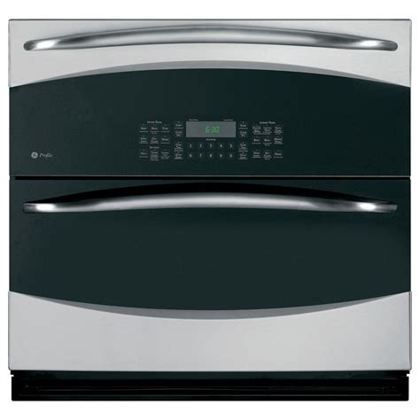 ge profile ge profile 30 in single electric wall oven self cleaning