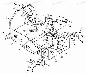 Polaris Snowmobile 1997 Oem Parts Diagram For Steering Xlt