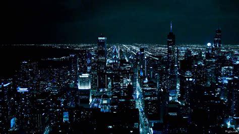 Chicago at Night HD Wallpaper 1920X1080