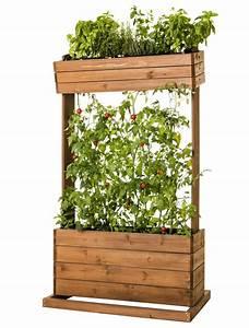 Tomaten Im Hochbeet : hochbeet holz pflanztisch pflanzbeet kr uter beet und rankhilfe f r tomaten ~ Whattoseeinmadrid.com Haus und Dekorationen