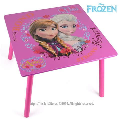 disney frozen table disney princess frozen furniture table and chairs set