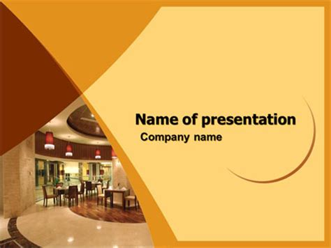 hotel restaurant sale poster template  microsoft word