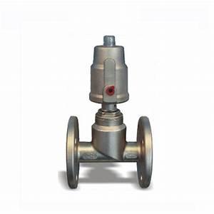 Stainless Steel Pneumatic Piston Flange Angle Seat Ball Valve