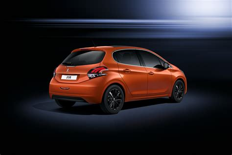 a peugeot peugeot 208 gets a subtle facelift for geneva w videos