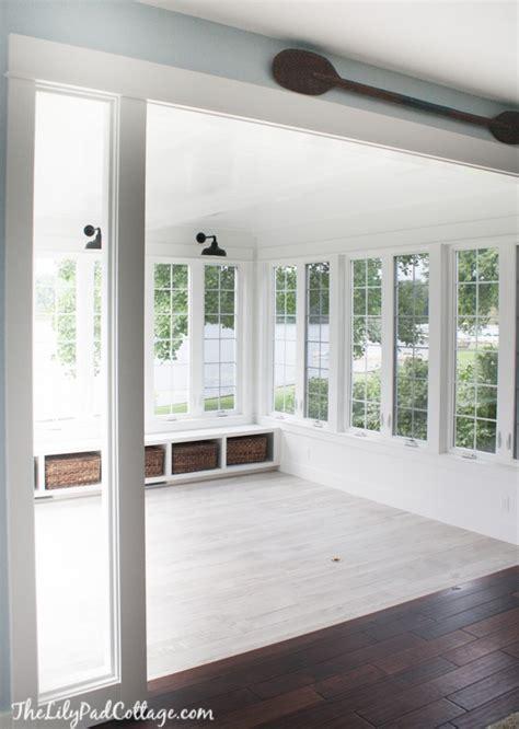 sunroom   ish  lilypad cottage